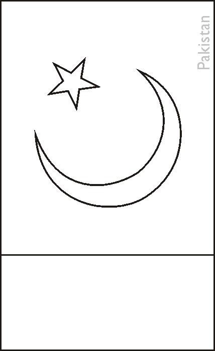 pakistani flag coloring pages - photo#20